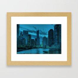 Chicago Blues 2 Framed Art Print