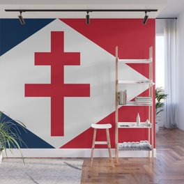 Naval Ensign of Free France  Wall Mural