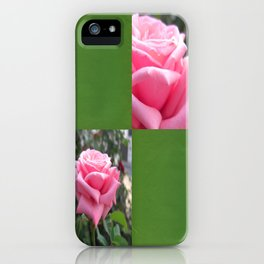Pink Roses in Anzures 6 Blank Q5F0 iPhone Case