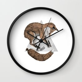 The Fox Who Lost His Tail Wall Clock