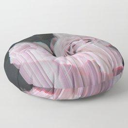 Fall In Rose Floor Pillow