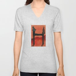 Animal's Alphabet - H for 'Horse' Unisex V-Neck