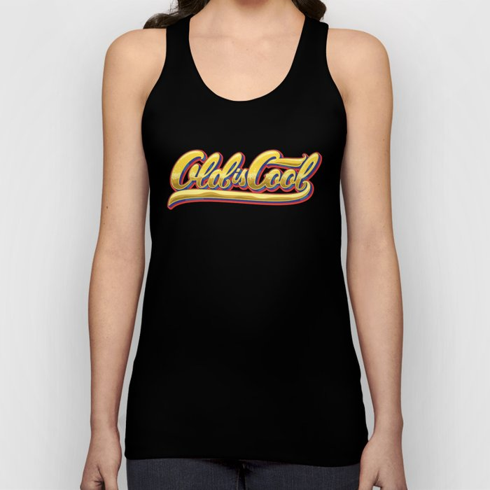 Old is Cool Unisex Tank Top