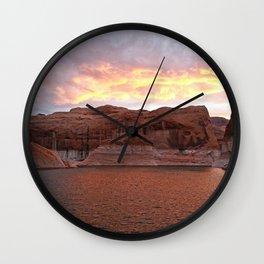 Lake Powell Evenings Wall Clock