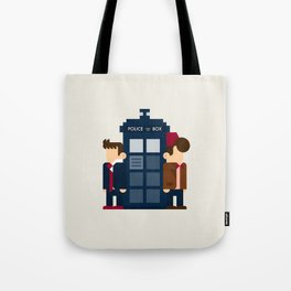 Doctor Who 10th & 11th Tote Bag