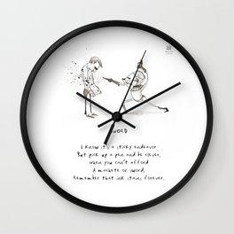 Sword Limerick Wall Clock