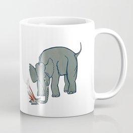 The Microphones - The Glow pt2 on White Coffee Mug