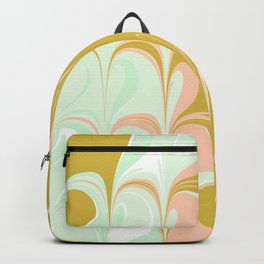 Abstract in Ice Cream Colors Backpack