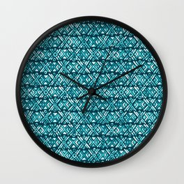 Sonoran Stripe - Oasis Wall Clock