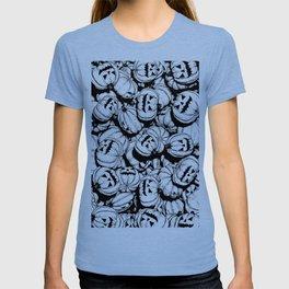 Halloween Pumpkins Pattern T-shirt