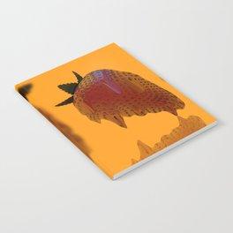 Strawberry Drip Notebook