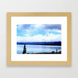 Lakeside Afternoon Framed Art Print