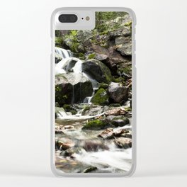 Beautiful Tributary Landscape Clear iPhone Case