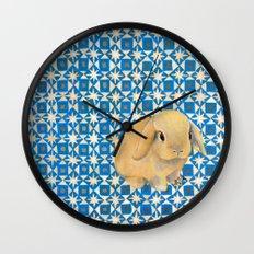 Charlie the Rabbit Wall Clock