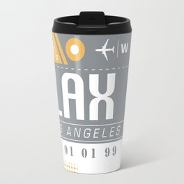 LAX International Travel Ticket Travel Mug