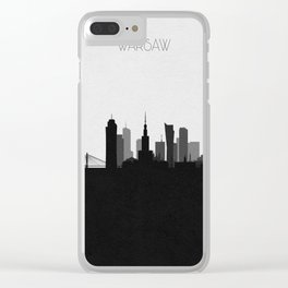 City Skylines: Warsaw Clear iPhone Case