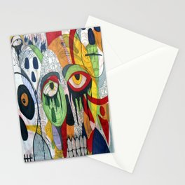 Smile at fear Stationery Cards