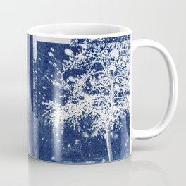 Flattened Image of Fallen Tree Coffee Mug