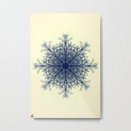 Snowflake No.3 Metal Print
