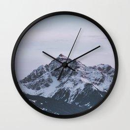 mood mountain Wall Clock