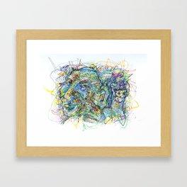 Candlelit Cavern Framed Art Print