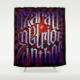 Azarath Metrion Zinthos Shower Curtain