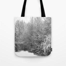 Snow 2 Tote Bag