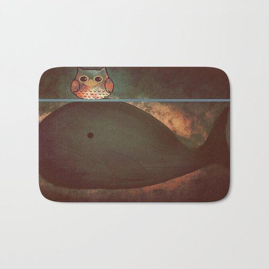 owl&whale-197 Bath Mat
