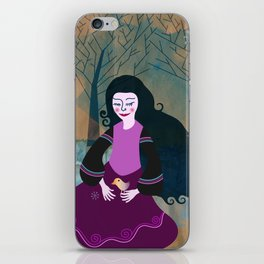 wintergirl iPhone Skin