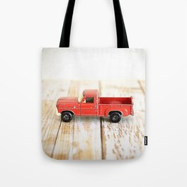 Red Truck Tote Bag