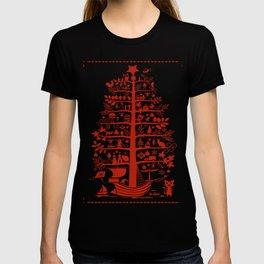 Christmas Tree Ship T-shirt