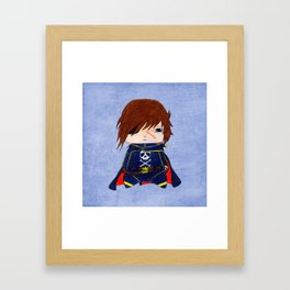 A Boy - Captain Harlock  / Albator Framed Art Print