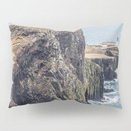 Lighthouse rock ocean Pillow Sham