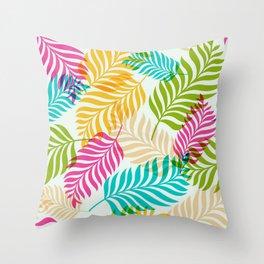 Leaf lettuce Throw Pillow