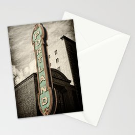 Portland Oregon Marquis Stationery Cards