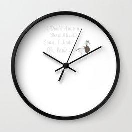 Duck Short Attention Span Wall Clock