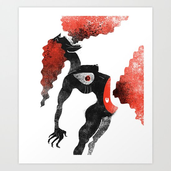 The Harpy Art Print