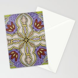 Success Mandala - מנדלה הצלחה Stationery Cards