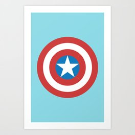 Captain of America Art Print
