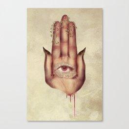 Hand of Fatima Canvas Print
