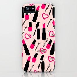 Cute Makeup iPhone Case