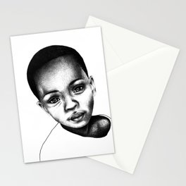 African Child Stationery Cards
