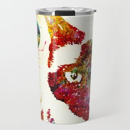 """""""I Can't Look At The Stars"""" Siamese Cat Travel Mug"""