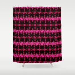 pinking Shower Curtain