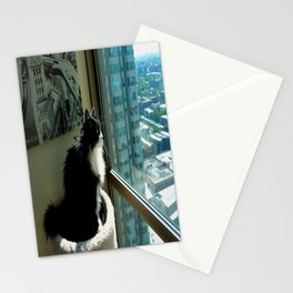 Surveying Her Realm (Gracie Queen of Chicago Collection) Stationery Cards