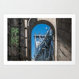 The Gate Art Print
