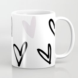 Lovely Hearts - Valentine's pattern Coffee Mug
