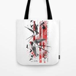 wings of a swallow Tote Bag