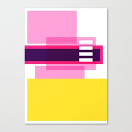 Bright Abstract II Canvas Print