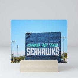 Home Of The Seahawks Mini Art Print